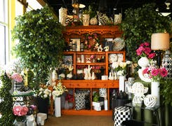 In addition to flowers and plants, McNamara offers a range of gifts and decorations